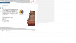 Alte Internetseite