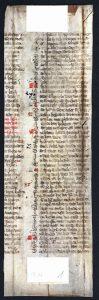 Handschriften-Fragment Jacob Van Maerlant: Spiegel historiael aus der Stadtbibliothek Trier