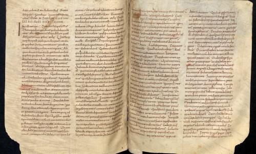 Handschrift Haymo Homelien