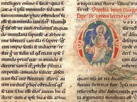 Handschrift Homiliar des Paulus Diaconus