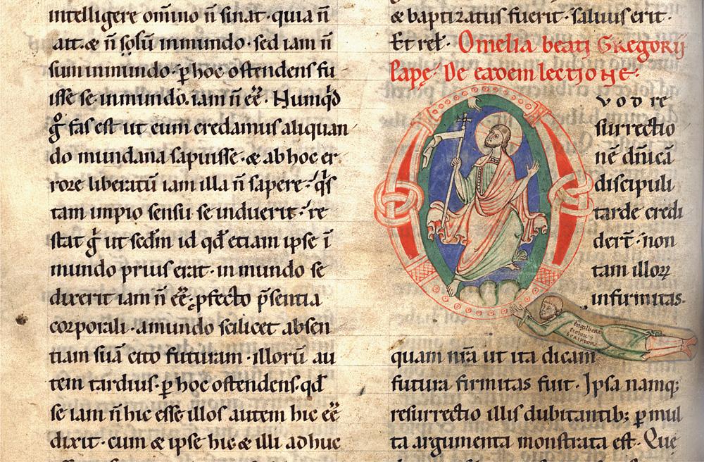 Handschrift Homiliar des Paulus Diaconus Hs. 261/1140 2°, Stadtbibliothek Trier