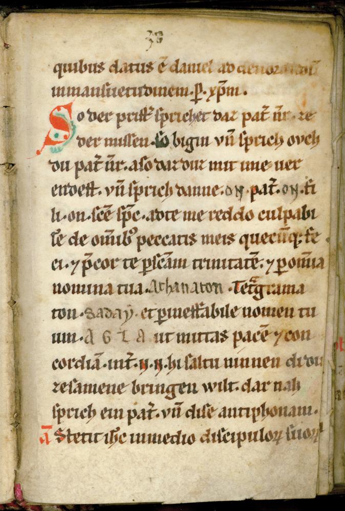 Handschrift Laienbrevier Hs. 450/1896 8°, Stadtbibliothek Trier