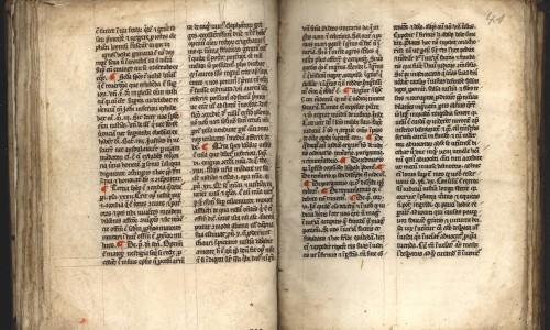 Handschrift Predigten