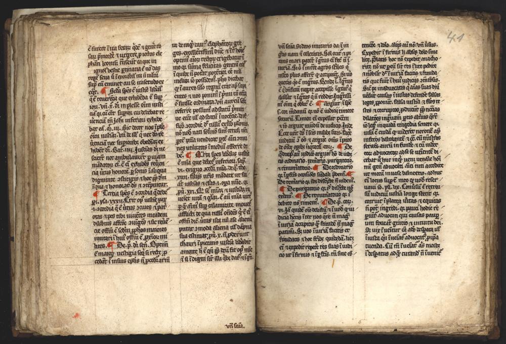Handschrift Predigten Hs. 256/1706 8°, Stadtbibliothek Trier